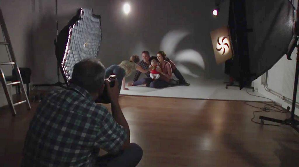 Limbowandstudio Wilfried Verhavert spezialisiert auf Kinderfotografie Familienfotos und Portraits 1