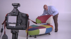 Möbelfabrikant Leolux ist stolz auf sein eigenes Limbowand Fotostudio